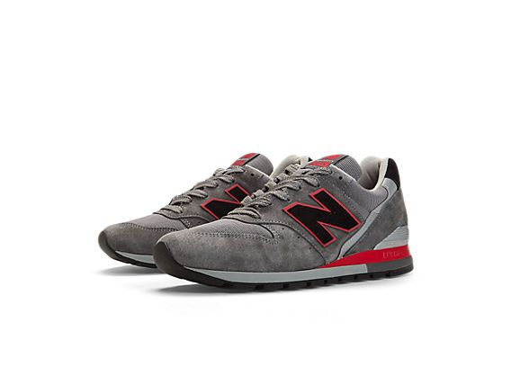 Renegade 996, Dark Grey with Black and Red