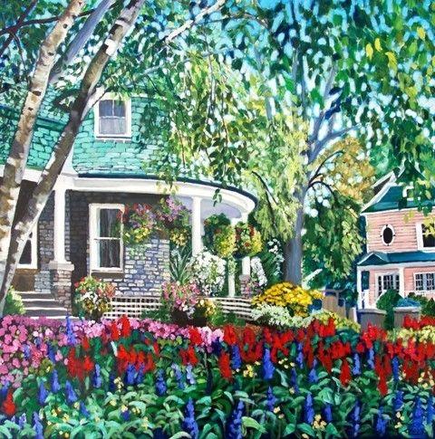 Gardener's Cottage by Anna Clarey