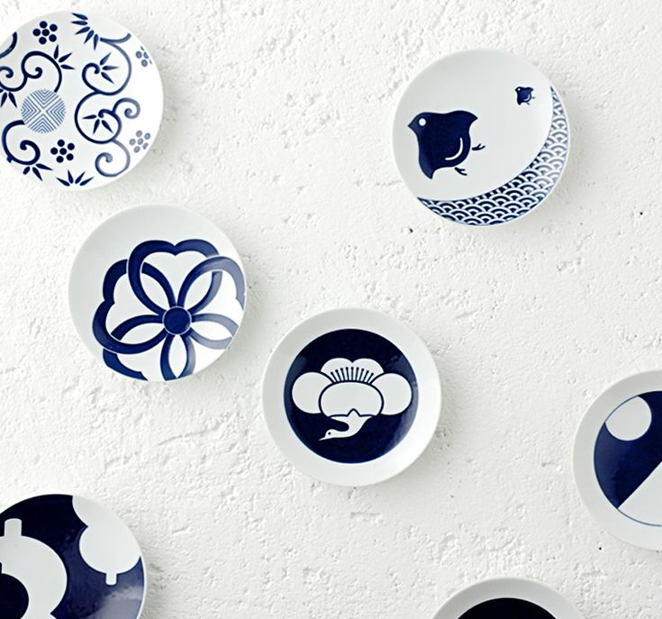 KOMON 豆皿/日本伝統文様をモダンにアレンジ I need this translated into English!!!  These are so beautiful