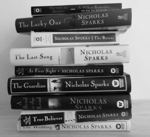 i love every book by nicholas sparks