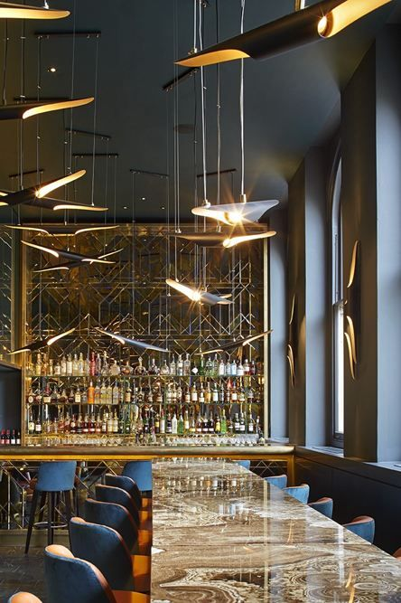 Christopher's restaurant, London designed by De Matos Ryan....