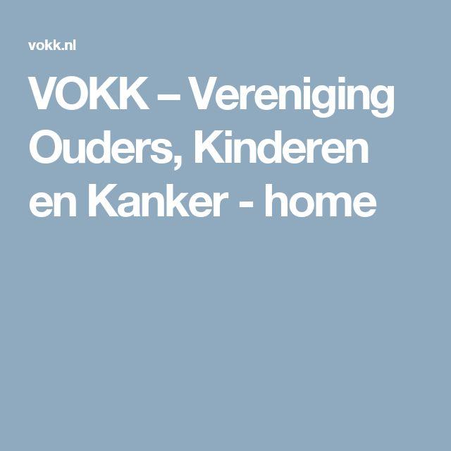VOKK – Vereniging Ouders, Kinderen en Kanker - home