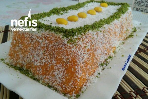 10 Dakikada Havuçlu Cezerye Pasta