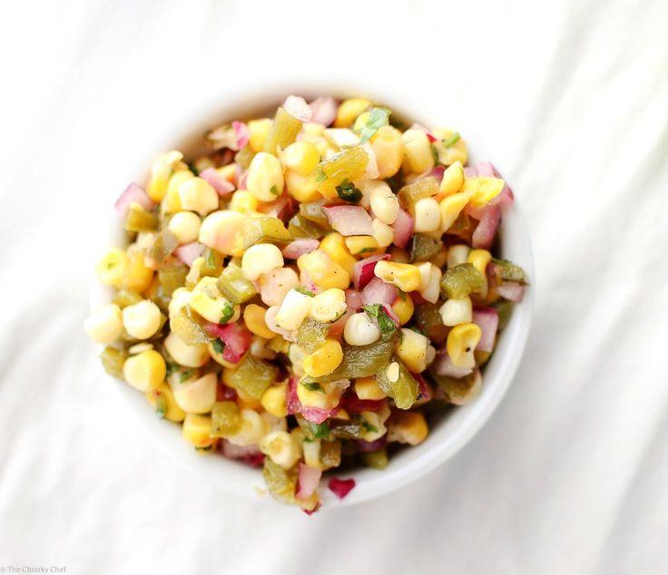 ... Roast Corn on Pinterest | Oven Roasted Corn, Roasted Corn Salad and