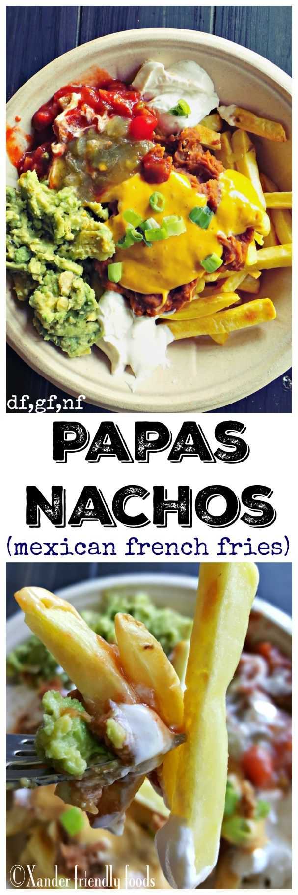 Papas Nachos -The heartiest, most delicious allergy-friendly twist on nachos…
