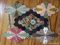 Image result for dodecagon english paper piecing