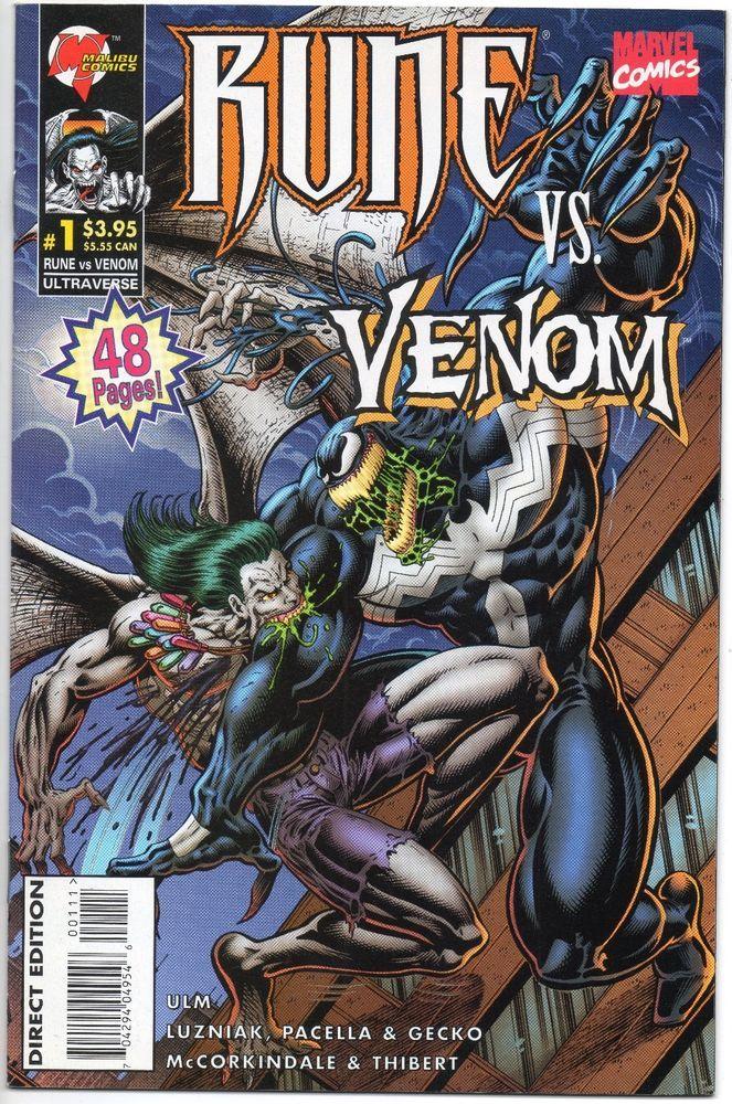 Rune Vs Venom #1 NM / 1st Winged Venom / Donny Cates