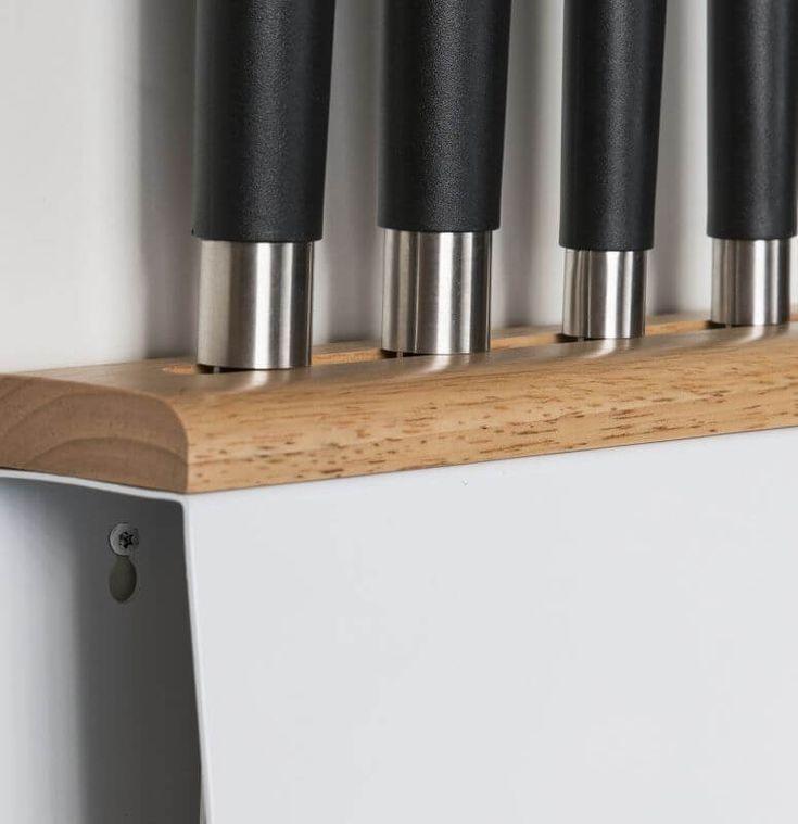 Die besten 25+ Messerhalter Ideen auf Pinterest Cnc - küche selber bauen