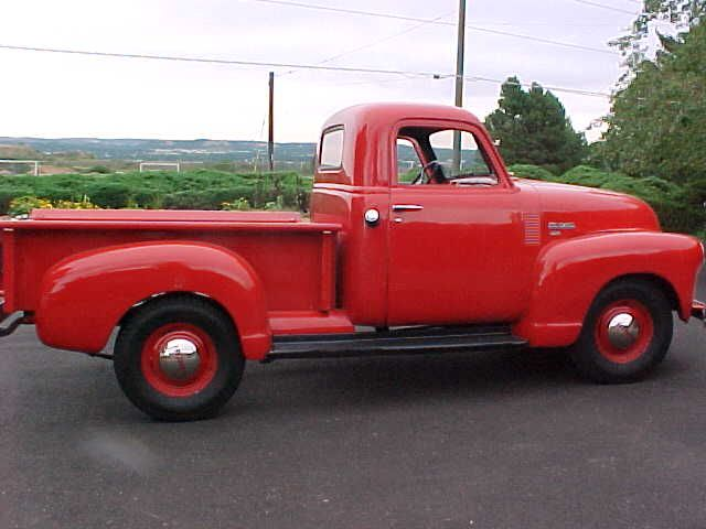 Cannot wait for my 1950's red vintage truck restored.....Love this one!