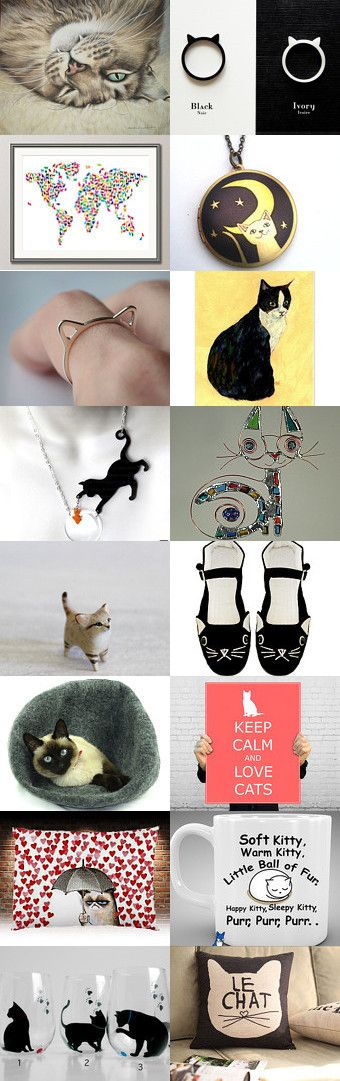 must love cats by Maggie Davis on Etsy--Pinned with TreasuryPin.com