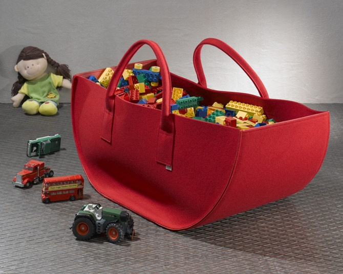 Toy carry all... the Felt at DAFF will inspire a full collection for all ages... cant wait to put my twist on it...