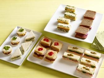 50 Tea Sandwiches from Food Network