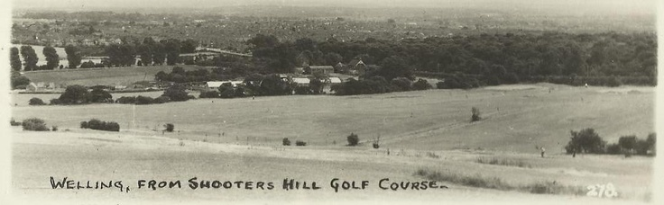 Welling From Shooters Hill Golf Course