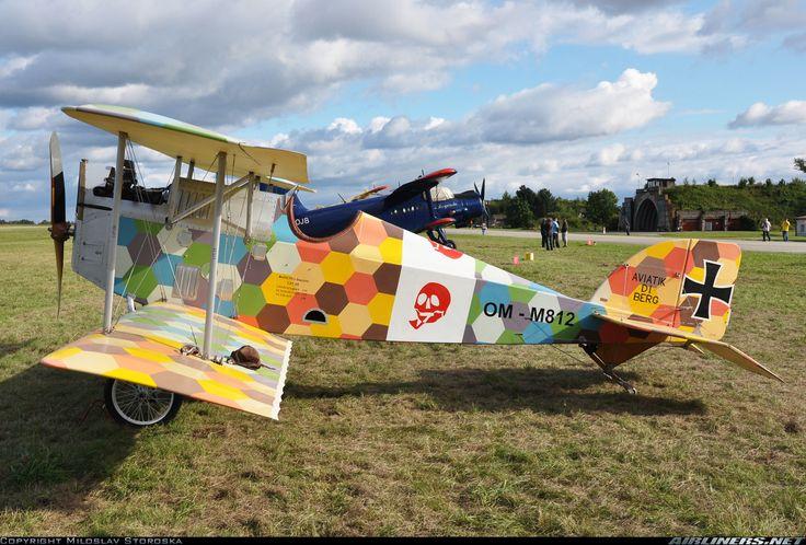 Aviatik D.I Berg (replica) aircraft picture
