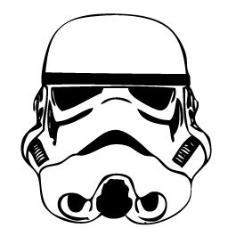 stormtrooper helmet outline chance pinterest helme. Black Bedroom Furniture Sets. Home Design Ideas