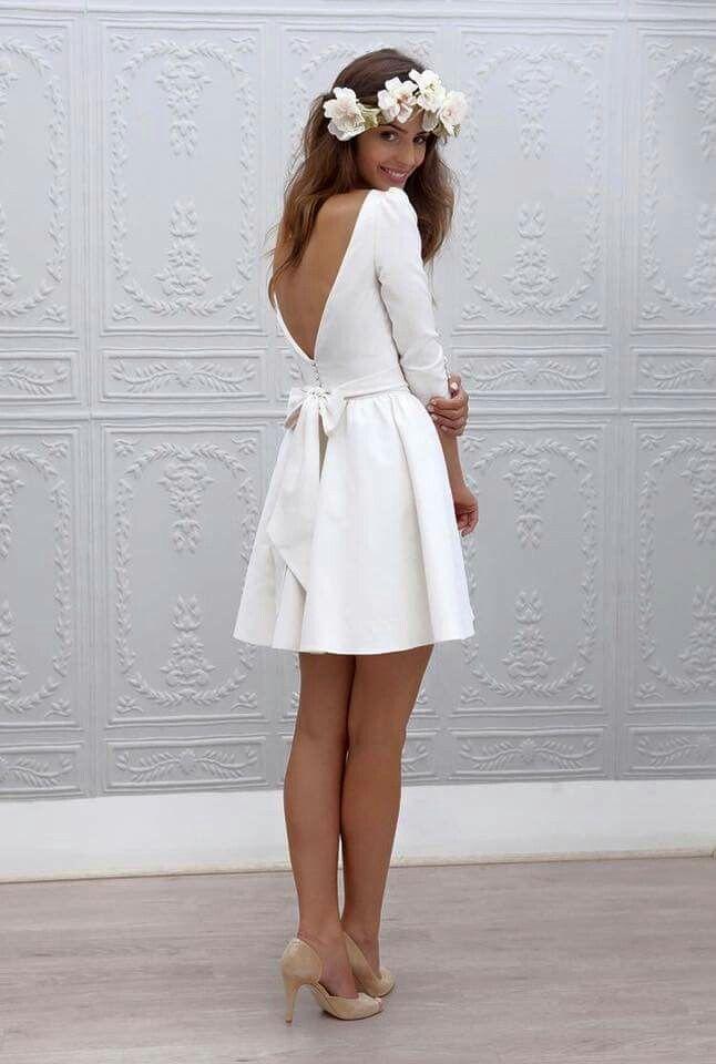 17 Best ideas about Short Bridal Dresses on Pinterest Vow