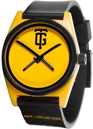 Neff x Taylor Gang TGOD Elite Watch