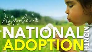 In honor of National Adoption Month in November 2013, several top-rated adoption authors have teamed up to bring awareness, inspiration, and support for adoption. We have 2 special activities planned: 1. FREE downloads of adoption books all throughout the month. 2. An Adoption Tweet Chat on National Adoption Day – November 23rd, 2013 from 8-9pmEST. You can participate by visiting www.tweetchat.com.