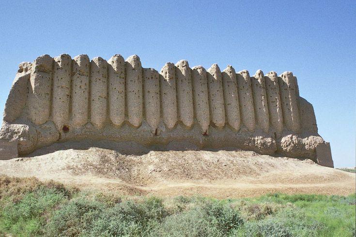 Silk Road: Kyz Kala - Mary, Mary - Turkmenistan,