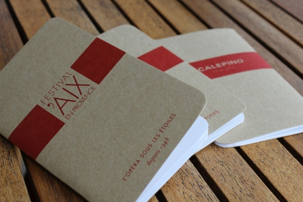 Our customised notebooks