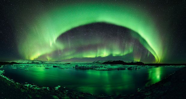 Northern Lights - Iceland  just to see the lights I have no other interest in Iceland. Bucket list!