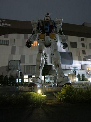 #Japan  Travel  #Hanami 2015 - Odaiba Gundam - http://www.animeclick.it/news/43608-reportage-8°-viaggio-in-giappone-di-animeclickit