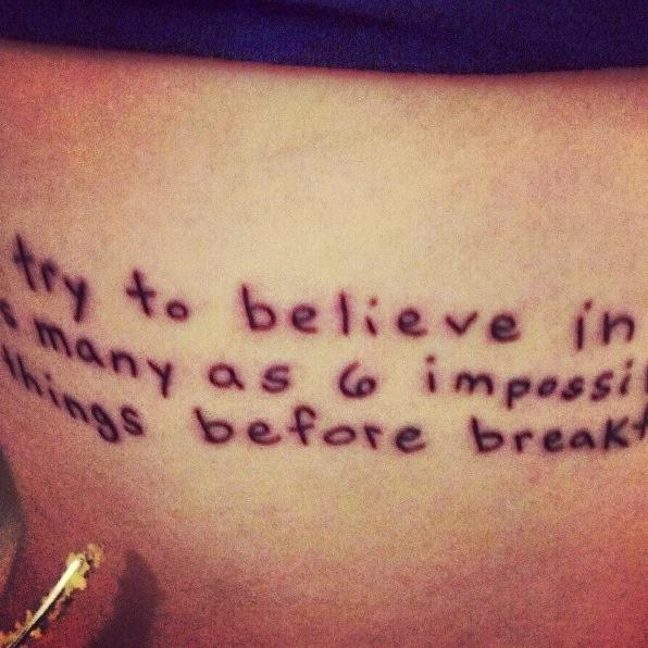 Alice In Wonderland Quotes Muchness Tattoo