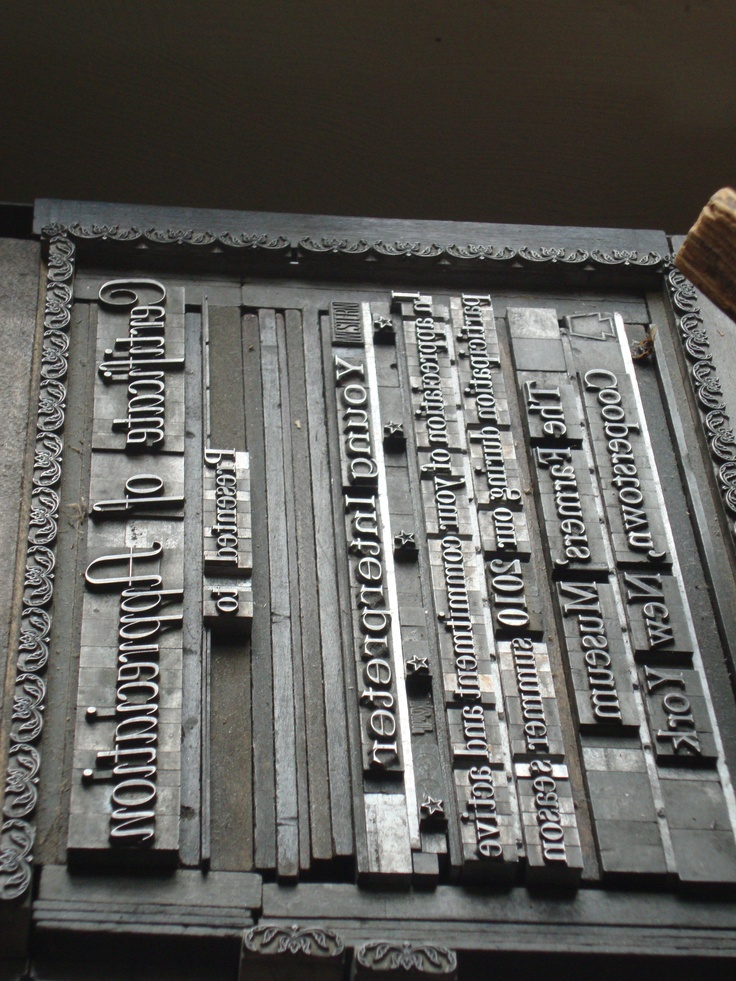 printing press at cooperstown