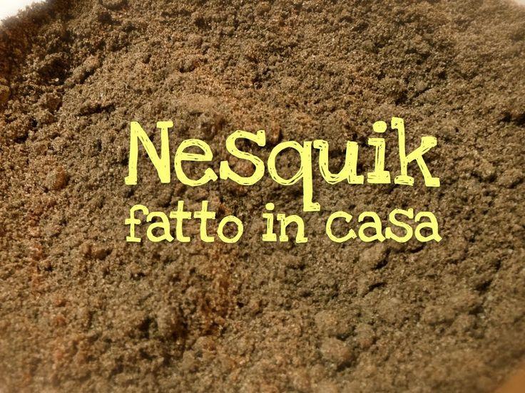 Ricetta del cioccolato Nesquik fatto in casa, semplice, veloce, economico, senza conservanti, e buono, per chi ama il vero gusto cioccolato anche nel latte.