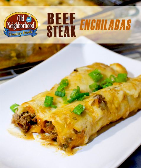 Beef Steak Enchiladas • Old Neighborhood Foods