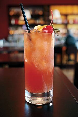 Rum for it! Try a new drink from the bars manager of Intercontinental Boston: the RumBa Runner- for only $14. Made with Bacardi Gold, blackberry brandy, Crème de Banana, falernum, fresh orange juice.
