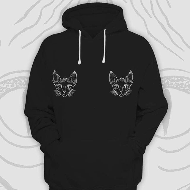 Winter is coming!  New hoodies on the way 💥  #hekser#hekserclothing#thessaloniki#greece#designer#fashion#streetwear#hoodies#etsy#etsyshop#etsyseller#lookbook#winter2018#collection#blackandwhite#cattattoo#catdesign#catsruleeverythingaroundme#CREAM