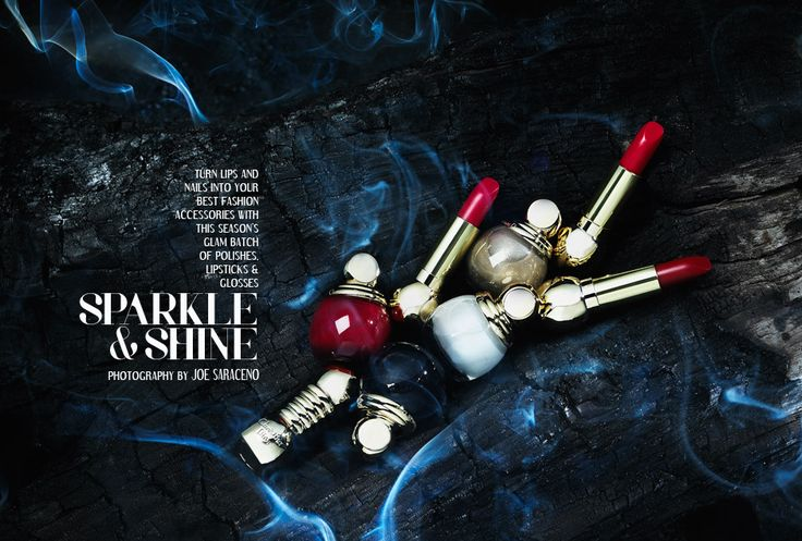 FILLER MAGAZINE:  Photographer: Joseph Saraceno, Judy Inc #filler #magazine #sparkle #shine #cosmetics #lipstick #nailpolish #photography #smokey #beauty #fashion #makeup #product