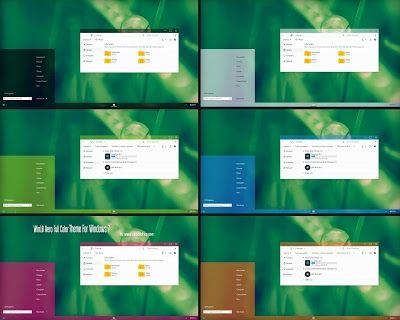 Win10  Aero Full Color Theme For Windows 7  Download https://www.cleodesktop.com/2016/09/windows-10-aero-theme-for-windows-7.html #Cleodesktop #Windows7