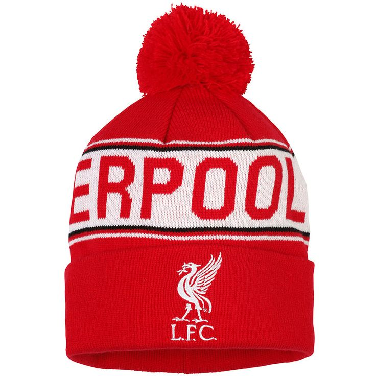 Ralawise. Adult Liverpool FC Text Beanie OF205