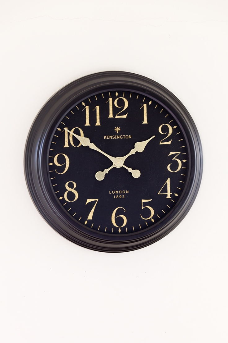 Anthea's, LONDON oversized clock, $129