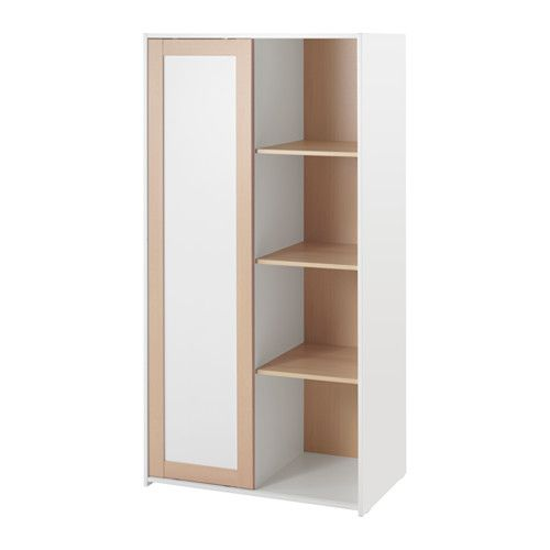 SNIGLAR Wardrobe IKEA The wardrobe fits perfectly into small spaces as the sliding door doesn't take up any extra space when opening.