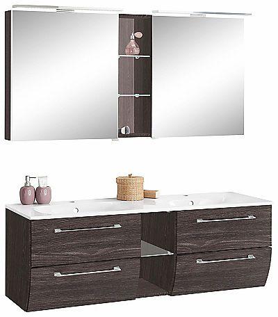 Marlin Badmöbel-Set »Sola« (2-tlg.) kaufen ✓ Rechnungskauf ✓ Waschtisch, Spiegelschrank » Jetzt bei BAUR