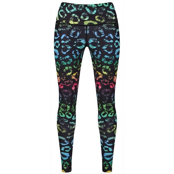 Tikiboo Spectrum Kisses Leggings #Activewear #Gymwear #FitnessLeggings #Leggings #Tikiboo #RainbowPrint #Running #Yoga
