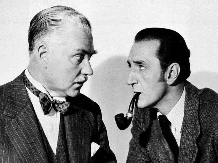 98 best Nigel Bruce images on Pinterest Sherlock holmes, Basil - dr watson i presume