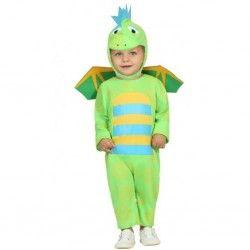 Disfraz #Dragón Verde para bebe #disfraces originales y #baratos para tus fiestas en #mercadisfraces.es tu tienda de #disfraces #online
