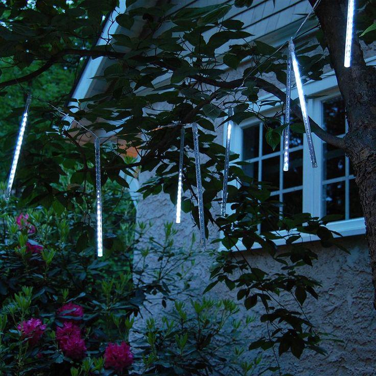Meteor Rain Lights (8 Tubes), Whites