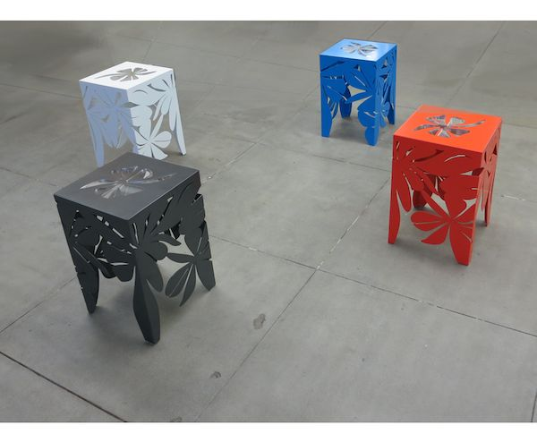 Flowery Stools By San Diego Based Designer And Artist Louise Girling. Find  This Pin And More On Modern Outdoor Furniture ... Part 59