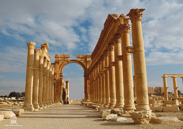 Palmyra - Damascus, Syria by whl.travel, via Flickr