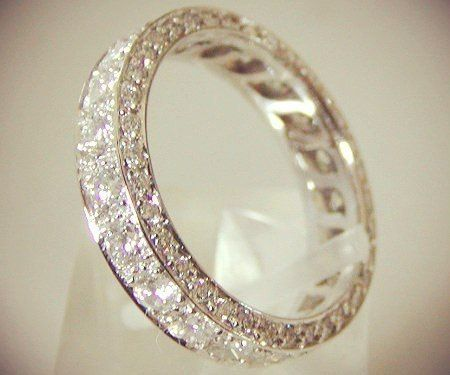 Eternity ring, hope the marriage lasts that long!