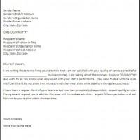 Apartment Noise Landlord Complaint Letter