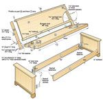 Sleeping Beauty Futon Woodworking Plan