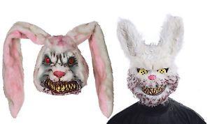 a hombres miedo zombie conejo mascara evil conejito halloween terror disfraz