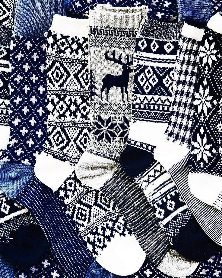 Winter foot sweaters