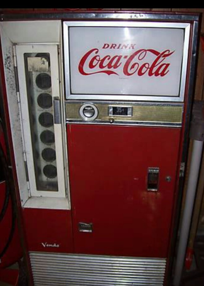 26 Best Coke Machines Images On Pinterest